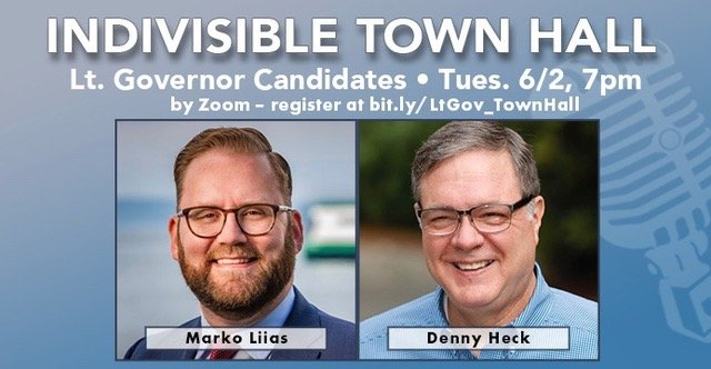 Statewide Town Hall with Marko Liias and Denny Heck