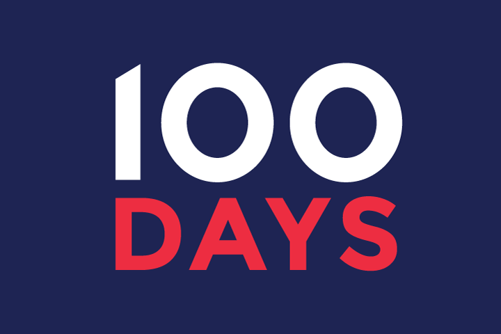 Fewer than 100 Days! Indivisible Launches Campaign!