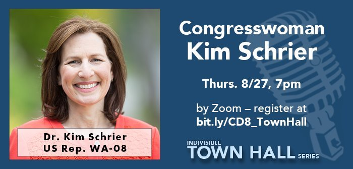 8th Congressional District Representative, Kim Schrier Town Hall
