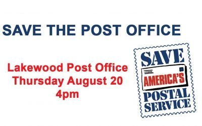 Indivisible Tacoma Invites You to Sign Wave to Support Our Postal System and Our Democratic Elections