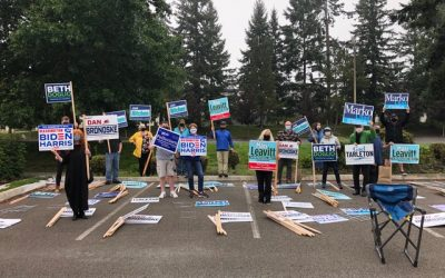 Getting Out The Vote – Outside!