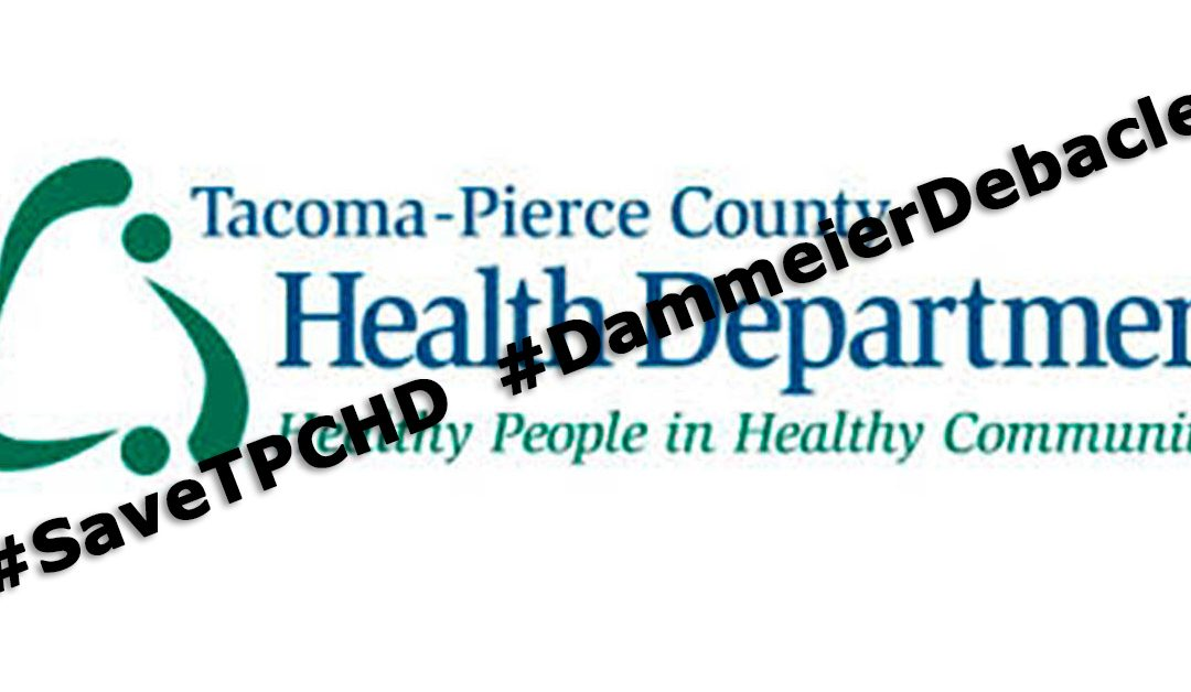 Save Tacoma-Pierce Health Department!