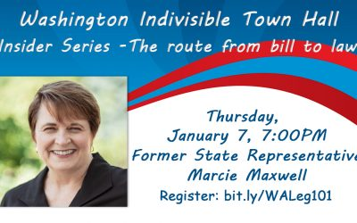 Indivisible Deep Dive with former State Rep. Marcie Maxwell