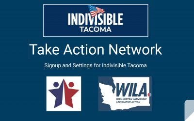 """Make Your Voice Heard in Olympia!  Join """"Take Action Network."""""""
