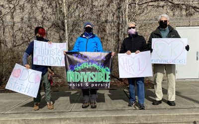 Indivisible Tacoma Showing up for Democracy!