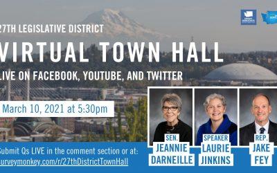 27th Virtual Town Hall