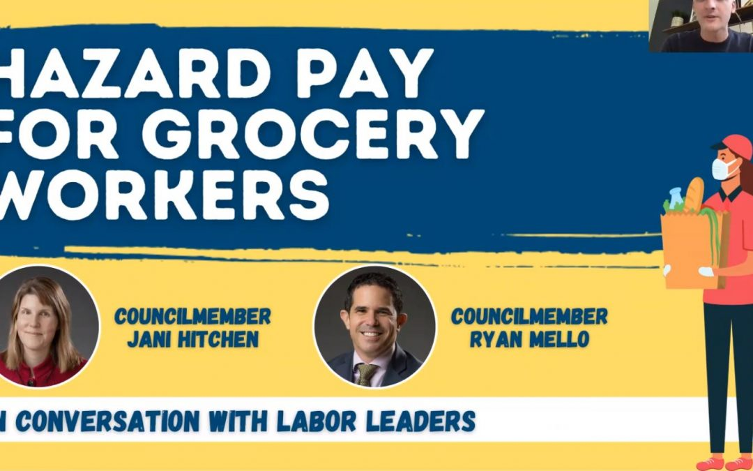 URGENT! Hazard Pay for Grocery Workers