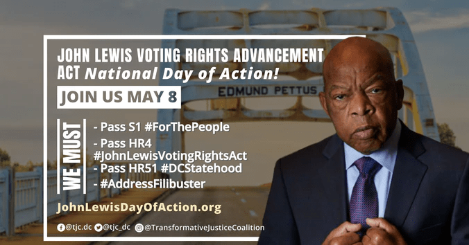 National JOHN LEWIS VOTING RIGHTS ADVANCEMENT Action Day
