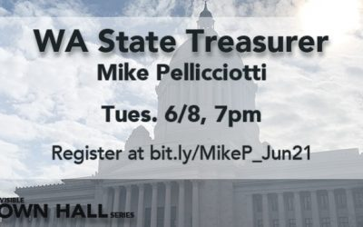 Indivisible Town Hall with WA State Treasurer Mike Pellicciotti